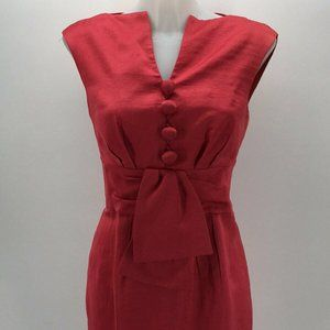 Nanette Lepore Pink Sleeveless Dress Size 6